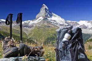 Panorami e piste da sci nelle Dolomiti